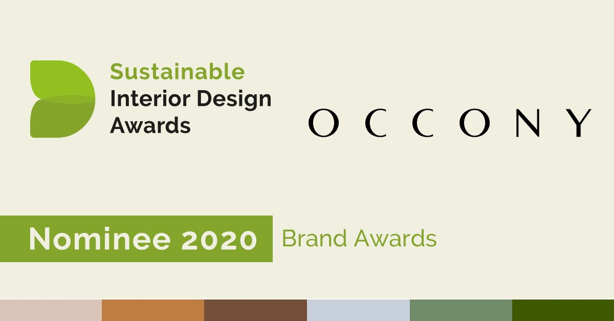 Occony brandaward sustainable furiniture